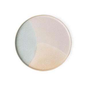Pink Nude Stoneware HK Living Side Plate