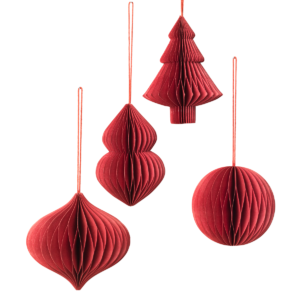 red-paper-christmas-decorations