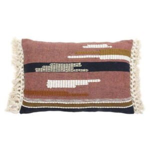 hk living gold detail fringe cushion