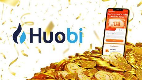 Huobi Global's New Users Can Enjoy $170 Sign-up Bonus