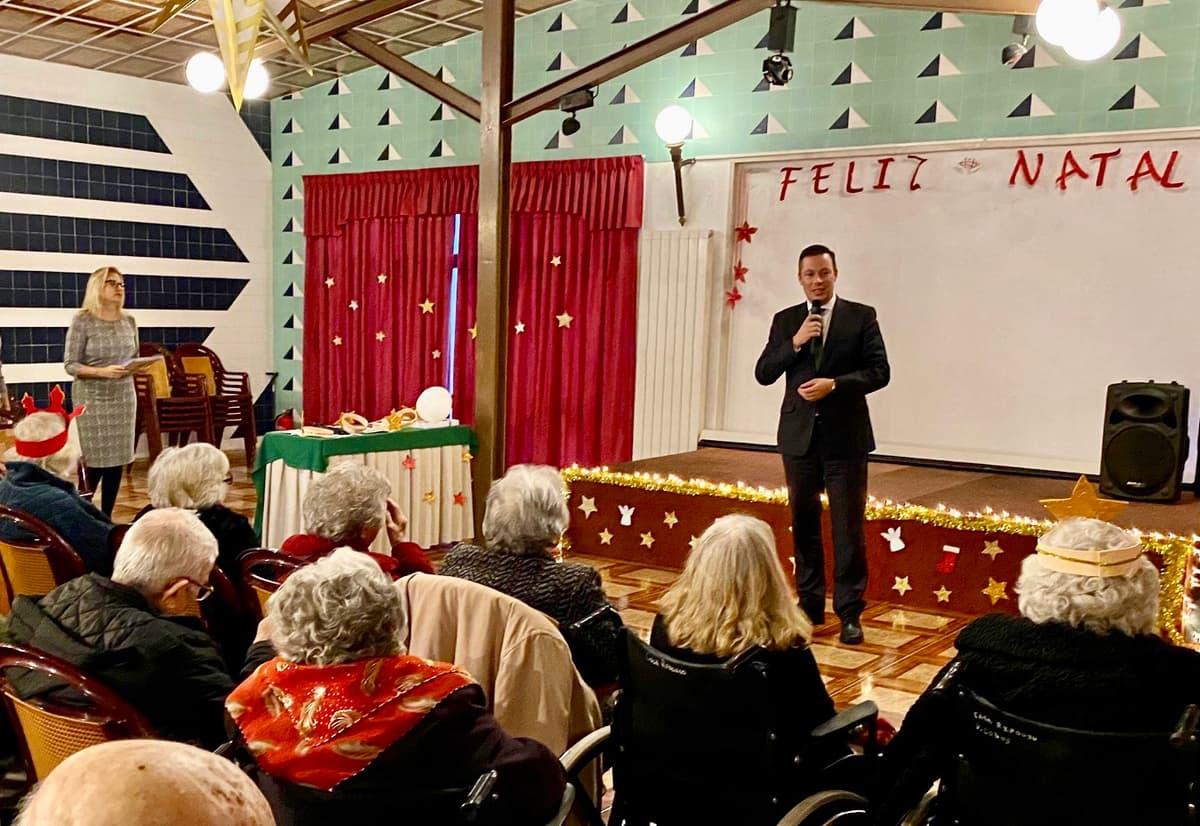 Festa de Natal 2019 com a participação de familiares e amigos dos nossos Clientes