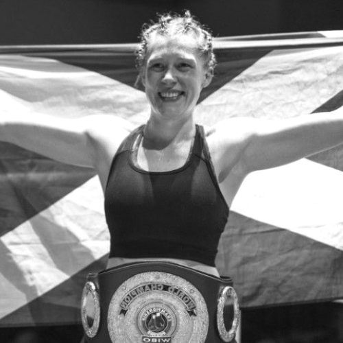 HANNAH RANKIN IBO WORLD CHAMPION