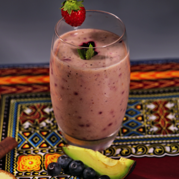 Keesha's Peanut Butter & Jelly Smoothie