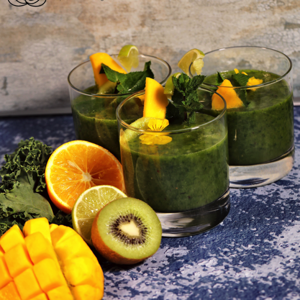 Keesha's Green Mango Smoothie