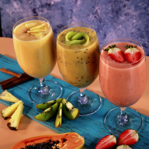Keesha's Fresh Papaya Smoothies