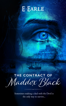 The Contract of Maddox Black Book Cover