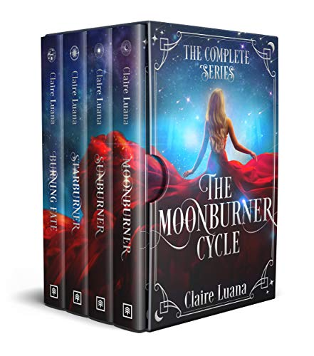 Moonburner Cycle Book Cover