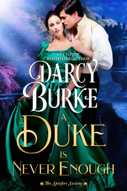 A Duke is Never Enough Book Cover