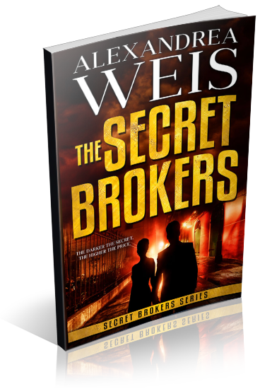 The Secret Brokers Book Cover