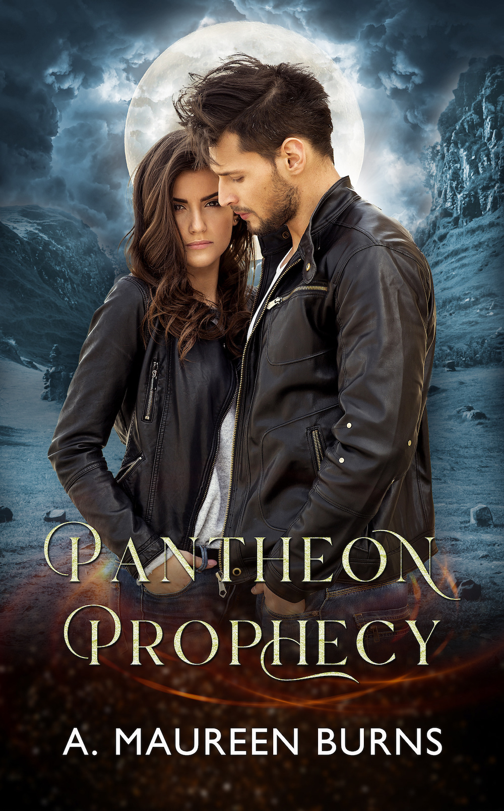 The Pantheon Prophecy Book Cover