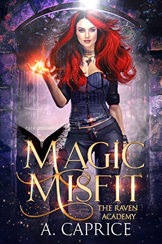 Magic Misfit: A Reverse Harem Academy Romance Book Cover