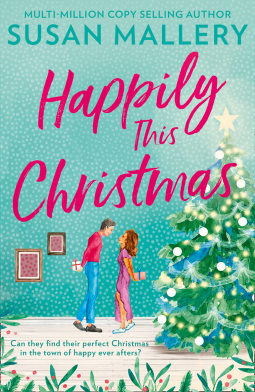 Happily This Christmas Book Cover