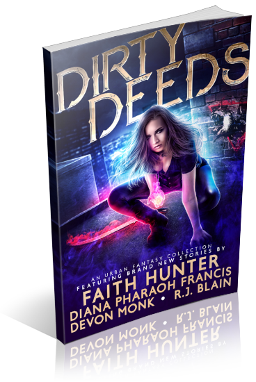 Dirty Deeds: An Urban Fantasy Collection , Book Cover
