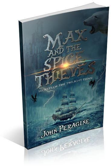 Max and the Spice Thieves Book Cover