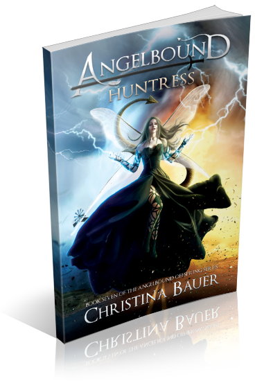 Huntress 1 - Rise Up! Author interview