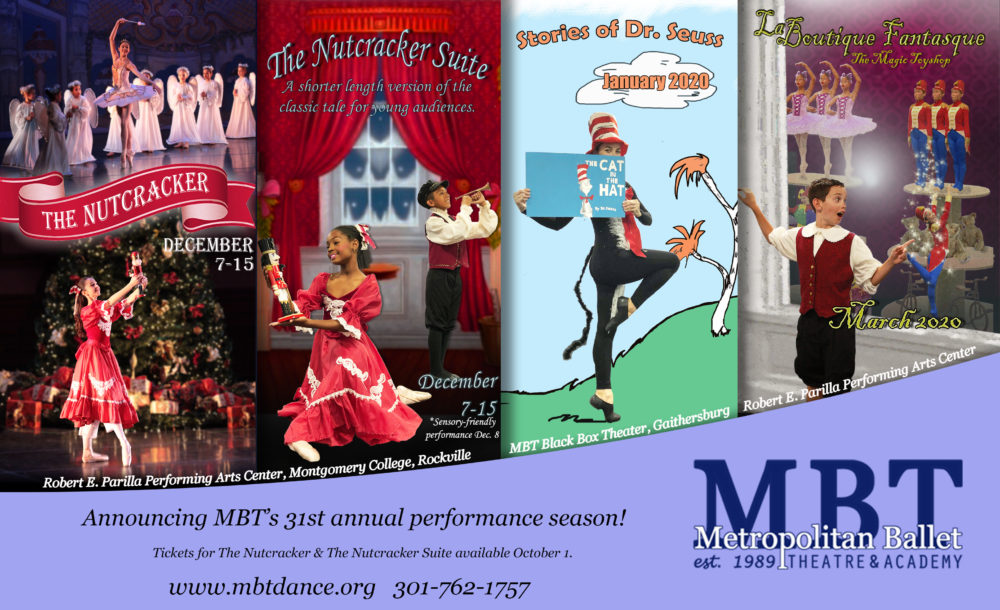 Announcing MBT's 31st Annual Performance Season!