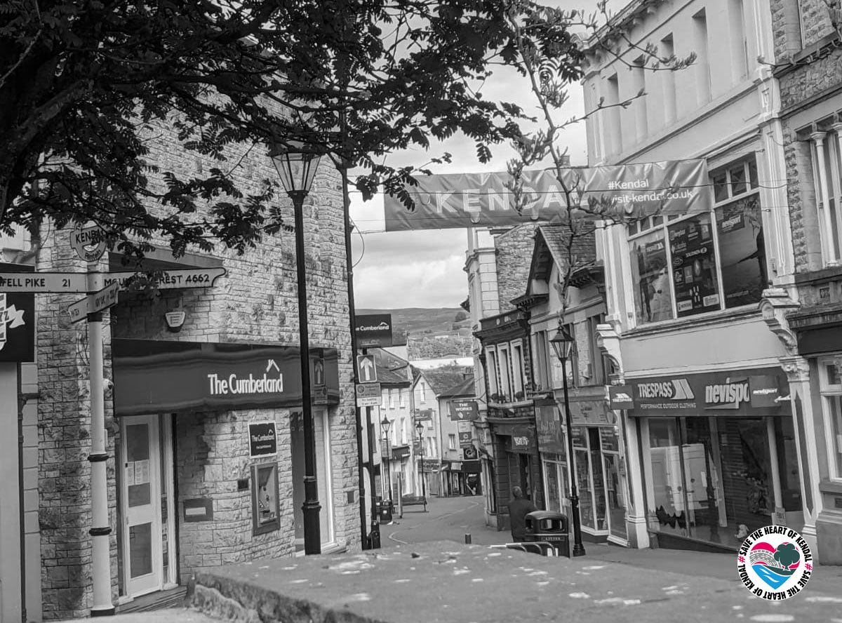 Empty streets of Kendal