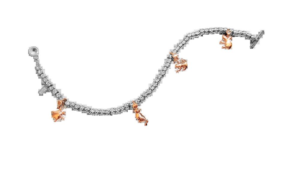 Dodo Mariani - Bracciale ciondoli