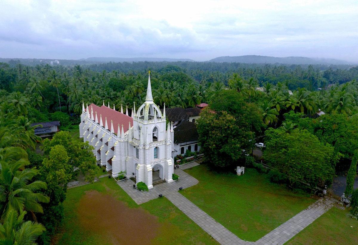 Church - arial