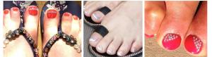 Swarovski Crystal Toes