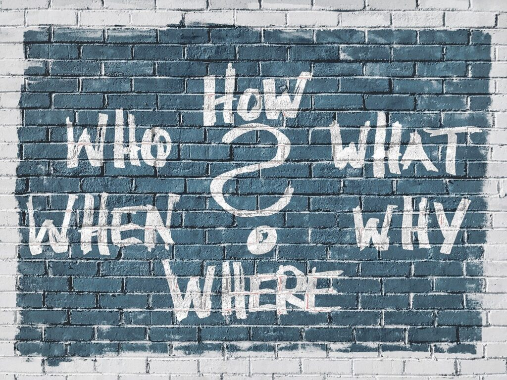 Questions Who What How Why Where  - geralt / Pixabay