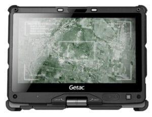 Getac Fully Rugged V110 Laptopn running Serbus Secure