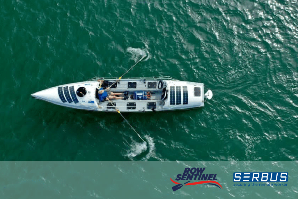 Row Sentinel - Man on a Mission - Proudly Sponsored by Serbus