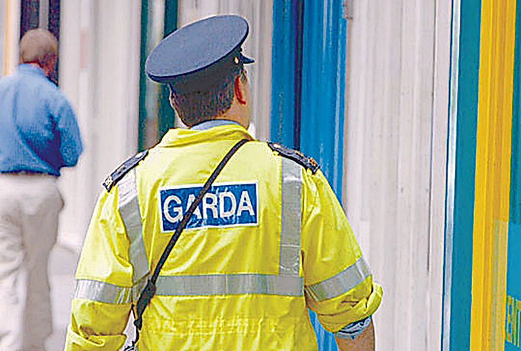 weapons seized after garda search car in tallaght 0716000000