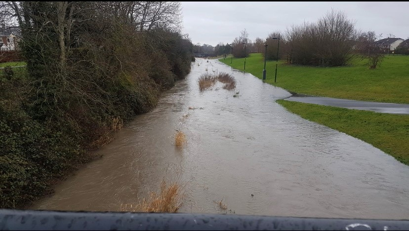 Griffeen River flooding
