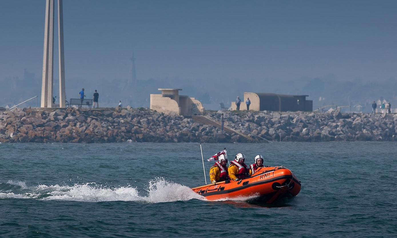 Dun Laoghaire Inshore lifeboat