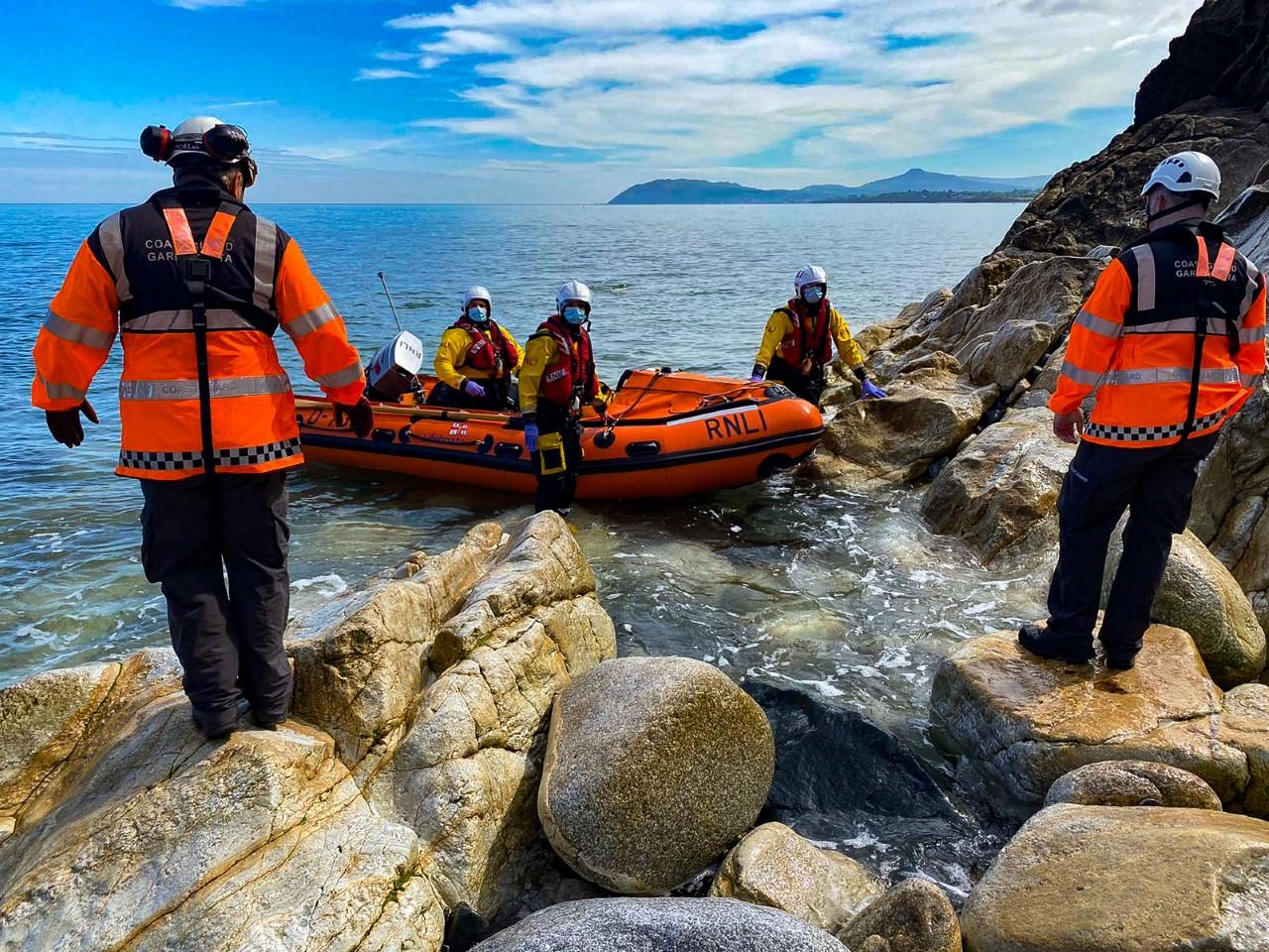 Dun Laoghaire RNLI Irish Coast Guard Dun Laoghaire