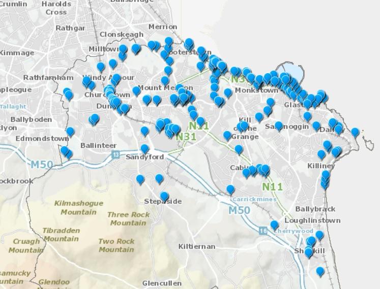 Cycle GIS Map image