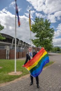 SDCC Tallaght Stadium Pride Flags 17 of 21 Photo Ben Ryan