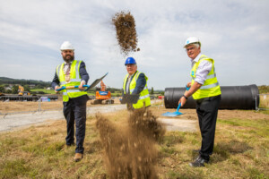 Irish Water sod turning on new 100 million litre reservoir in Saggart 20