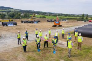 Irish Water sod turning on new 100 million litre reservoir in Saggart 22