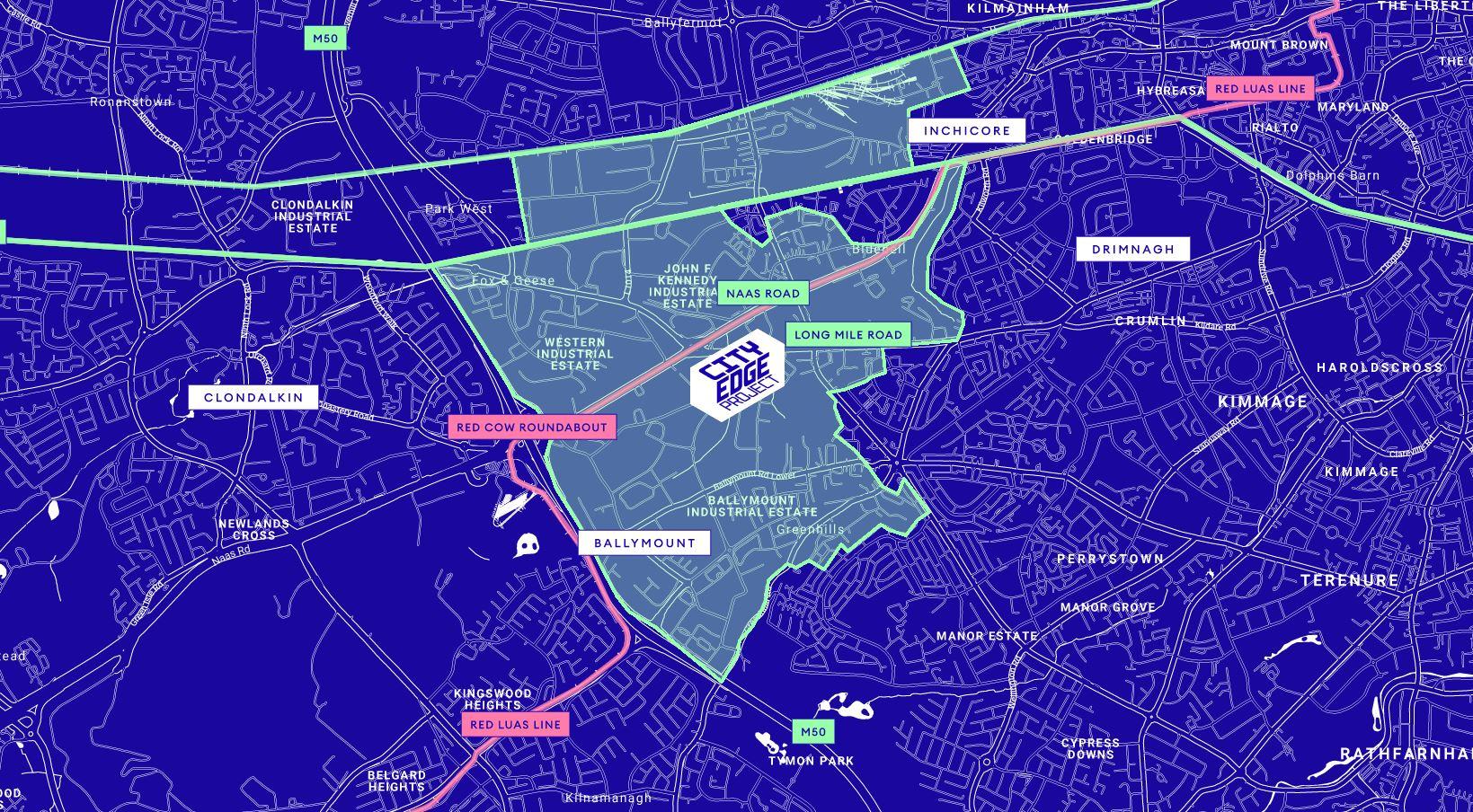 CityEdge map