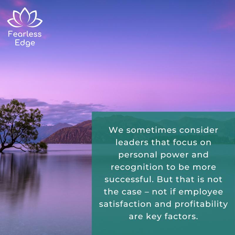 heart-centred leadership fearless edge