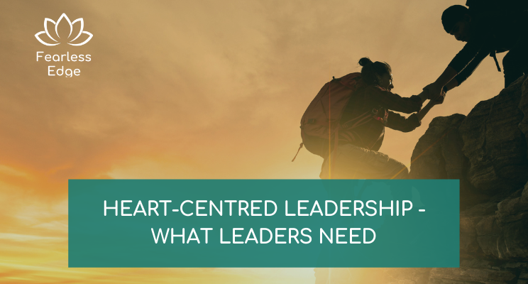 what leaders need fearless edge