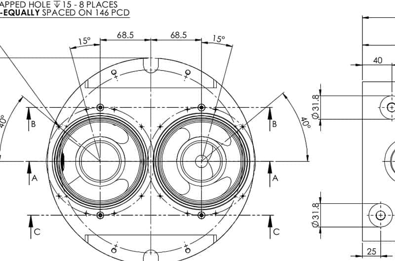 Series 0 Impact Pump product engineering design complete
