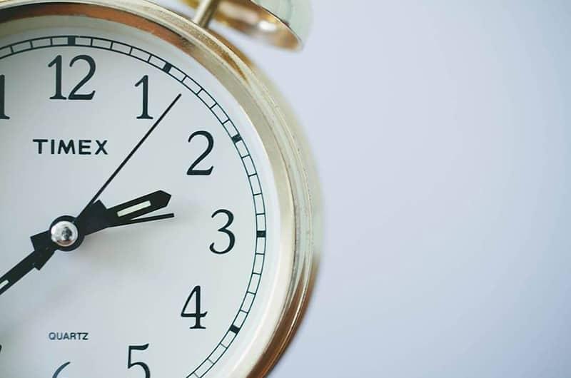 Endurance test clocks 5000 hours