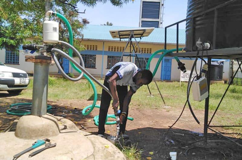 The Impact Pump to serve 800 children and staff in Kisumu, Kenya