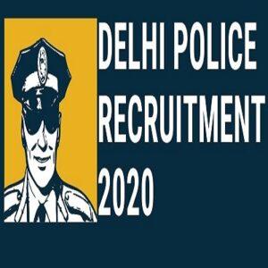 Delhi Police Constable job 2020