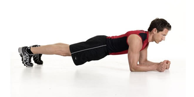 correct way of doing plank
