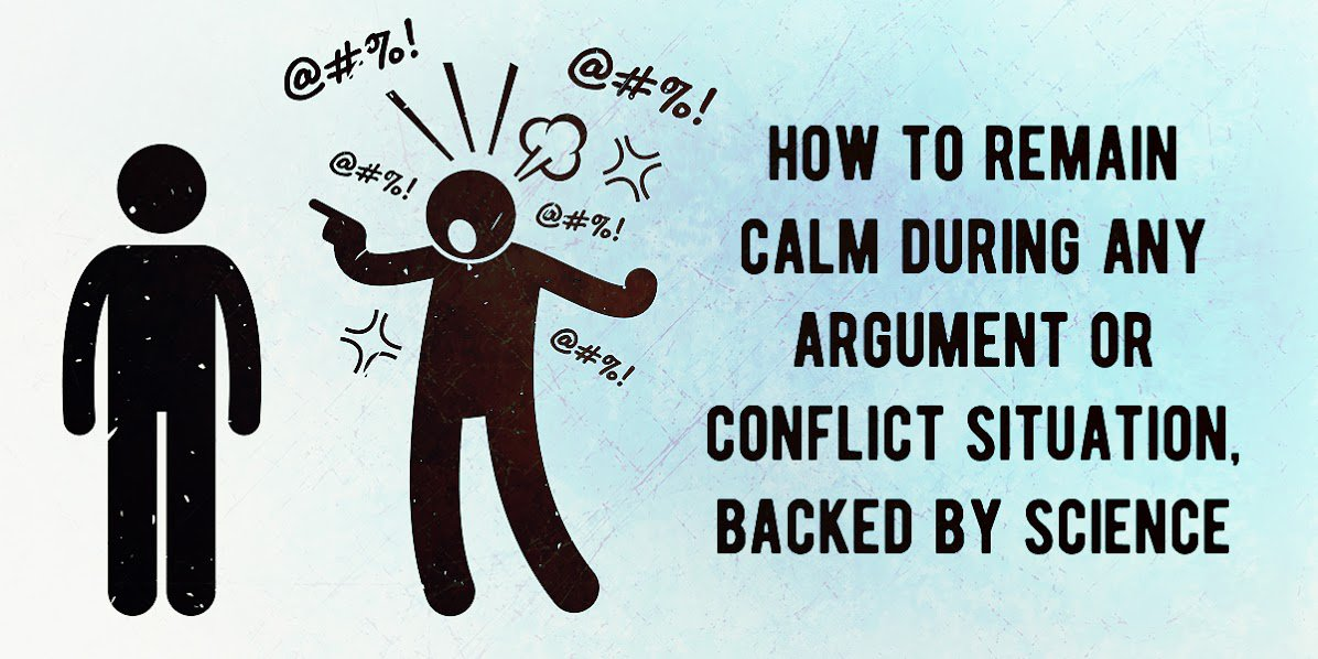 how to stay calm