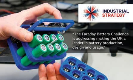 Faraday Battery Challenge was established to jump-start developments in electrical storage solutions