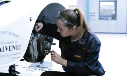 MOTORSPORT ENGINEERING STUDENT SETS SIGHTS ON F1 CAREER