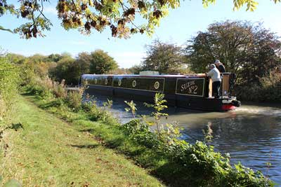 The UK builds around 200 new canal boats each year.