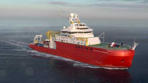 Sir David Attenborough is the world's most advanced polar research vessel.