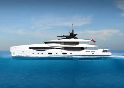 Sunseeker's new 161 Yacht will be built in aluminium