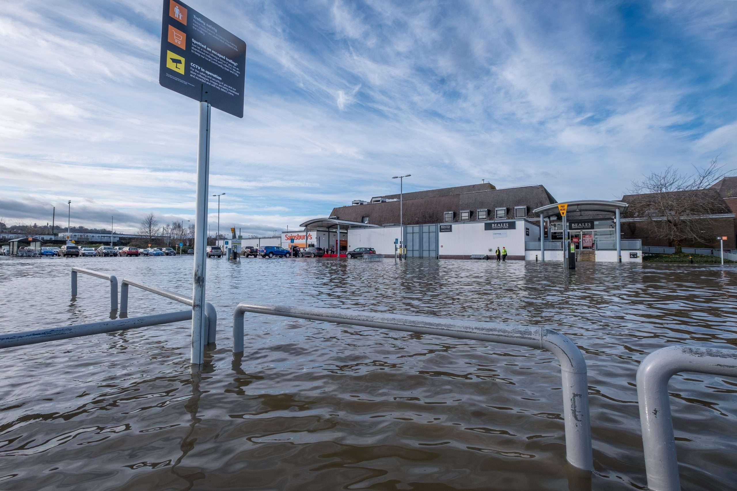 Flood response | Drainage Services | Express Commercial Solutions